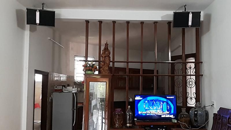 Loa JBL KI 510 sử dụng trong bộ dàn karaoke gia đình