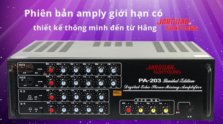 Amply Jarguar 203 Limited Edition | Thiết kế thông minh đến từ Jarguar