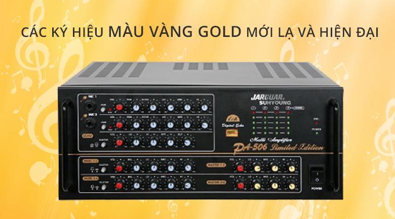 Amply Jarguar 506 Gold Limited Edition | Thiết kế mới lạ và hiện đại cới màu vàng gold chủ đạo