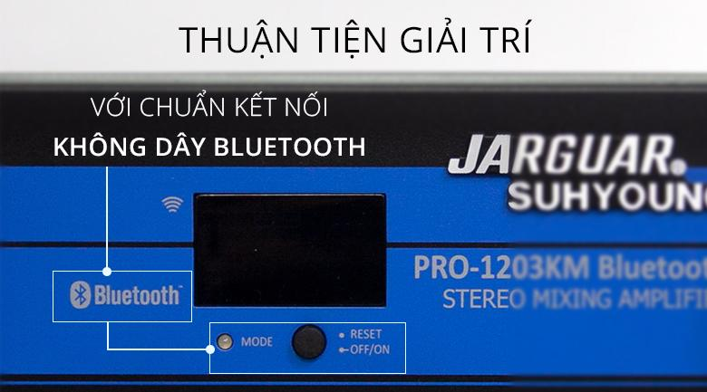 Amply karaoke Jarguar PRO-1203KM Bluetooth | Nhiều tiện ích cho các hoạt động giải trí thuận tiện hơn