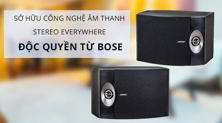 Loa bose 301 seri V | Công nghệ âm thanh độc quyền đến từ Bose