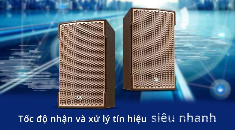 Loa DK VR 10 | Tốc độ nhận và xử lý tín hiệu siêu nhanh