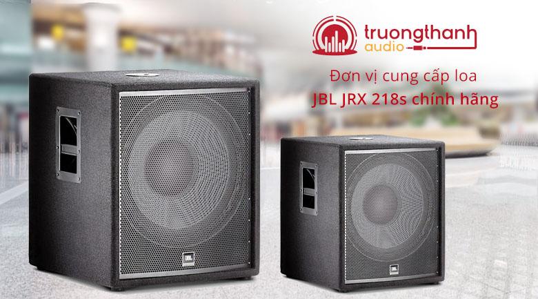 Loa JBL JRX 218S | Trường Thành Audio đơn vị cung cấp loa JBL uy tín hàng đầu