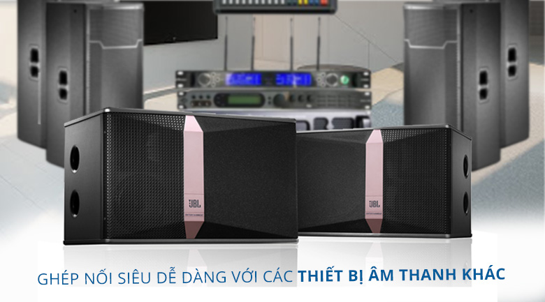 Loa JBL KI 510 | Ghép nối dễ dàng với các thiết bị liên quan