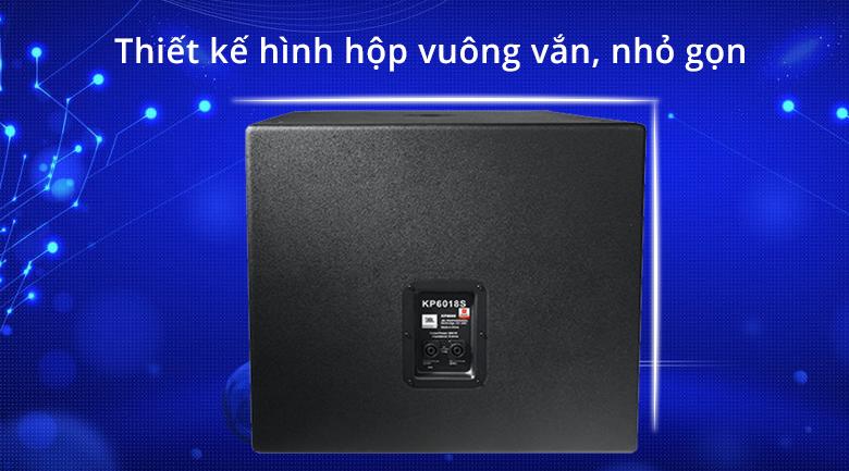 Loa JBL KP 6018S | Thiết ké hình hộp vuông vắn nhỏ gọn