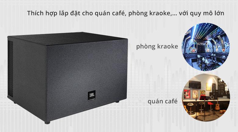 Loa JBL KP18S | Trang bị phù hợp với quán cafe, phòng karaoke,...