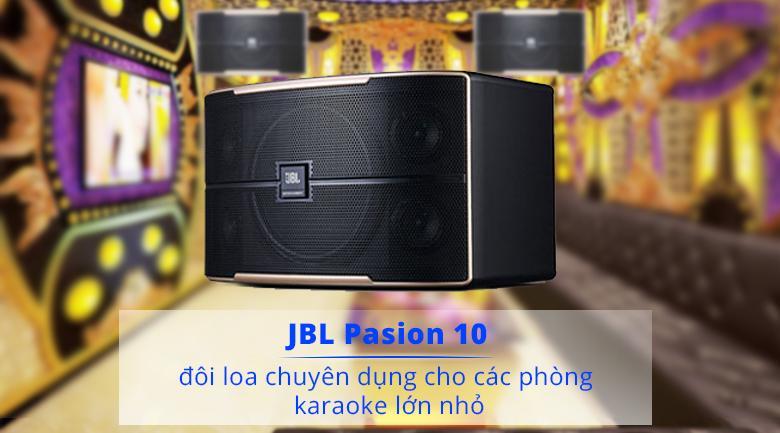 Loa JBL Pasion 10 | Loa chuyên dụng cho dàn karaoke gia đình