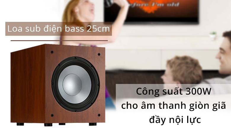Loa Sub Jamo J10 | Loa sub điện công suất 300W cho âm thanh đầy nội lực