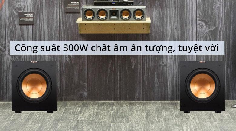 Loa Klipsch R10SW | Công suất 300W chất âm ấn tượng tuyệt vời