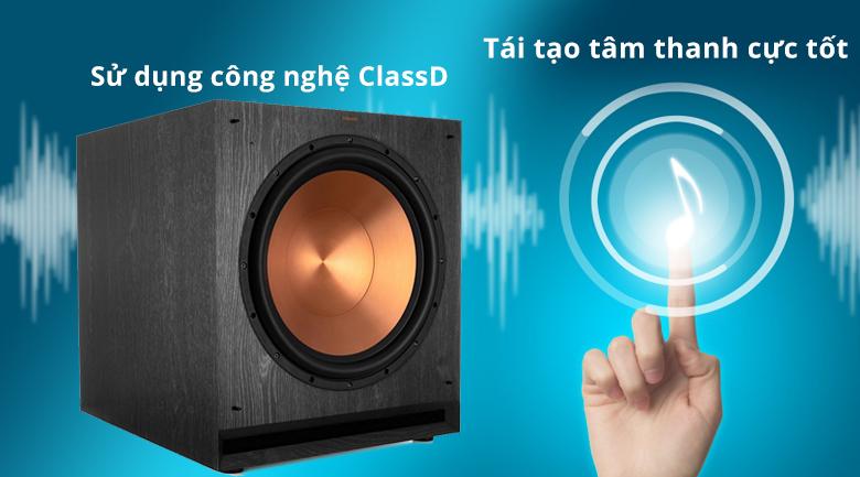 Loa Klipsch SPL-150 | Tái tạo âm thanh cực tốt với công nghệ Class D