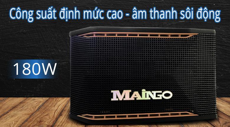 Loa Maingo LS-100M | Công suất định mức cao cho âm thanh sôi động