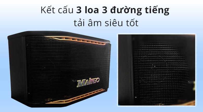 Loa Maingo LS-100M | Kết cấu 3 loa 3 đường tiếng tải âm siêu tốt