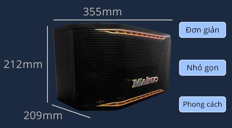 Loa Maingo LS-100M | Thiết kế đơn giản, nhỏ gọn và phong cách