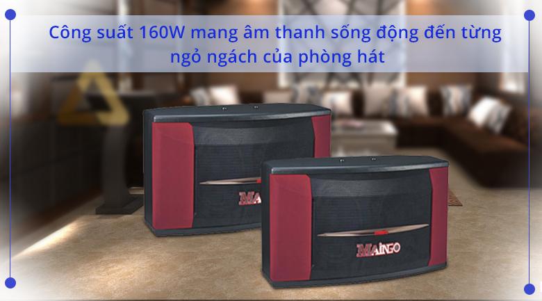 Loa Maingo LS 880R   Công suất 160W cho âm thanh sống động