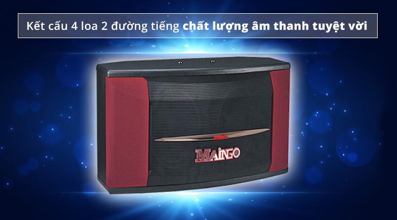 Loa Maingo LS 880R   Kết cấu 4 loa 2 đường tiếng chất âm tuyệt vời