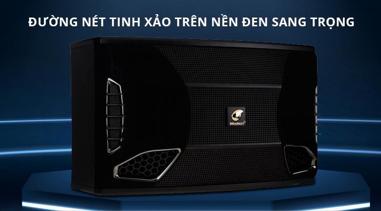 Loa Maingo LS 90V | Thiết kế tỉnh sảo trên nền đen sang trọng