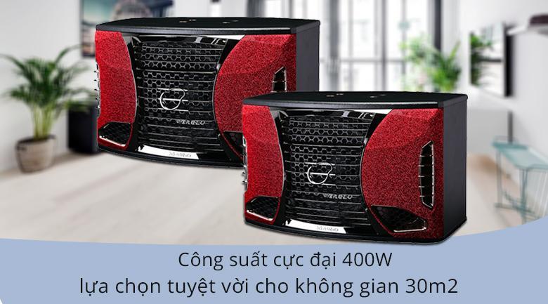 Loa Maingo LS-S100M | công suất 400W âm thanh phủ kín không gian 30m2