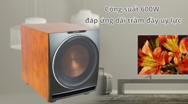 Loa Paramax Sub 2000   Công suất ổn định đáp ứng âm trầm đầy nội lực