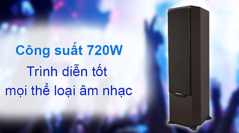 Loa Paramax F-2000 New | Công suất 720W trình diễn tốt mọi thể loại âm nhạc