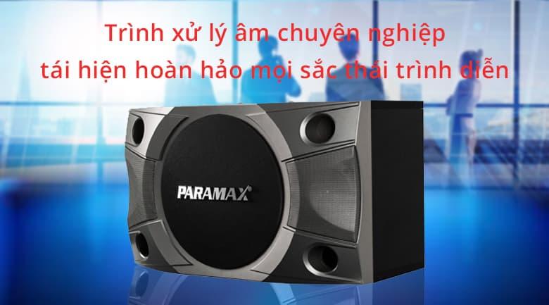 Loa paramax P800 | Trình xử lý chuyên nghiệp nhất hiện nay