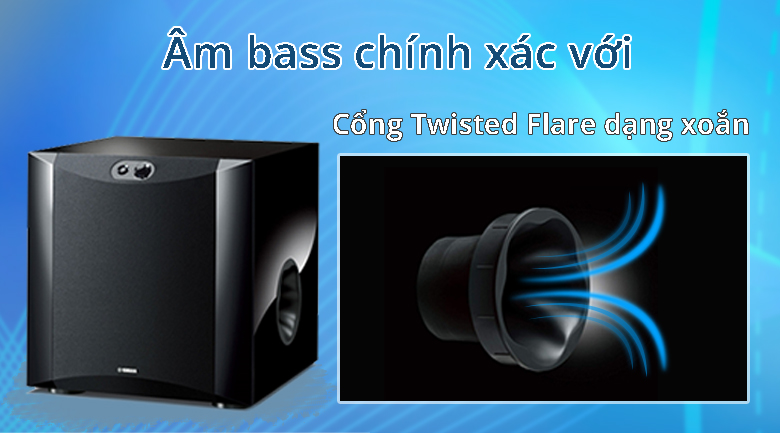 Loa Yamaha NS-SW300 Piano   Âm bass chính xác