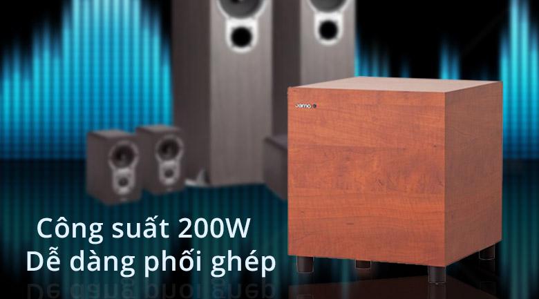 Loa Jamo 210 | công suất 200W dễ dàng phối ghép