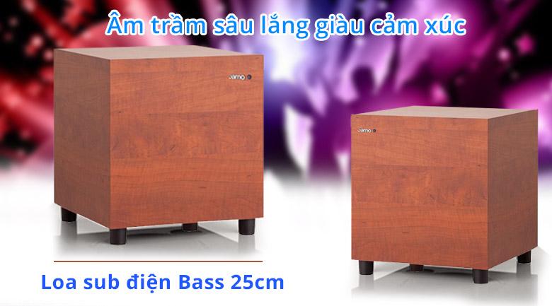 Loa Jamo 210 | Loa sub điện bass 25cm cho âm trầm sâu lắng giàu cảm xúc