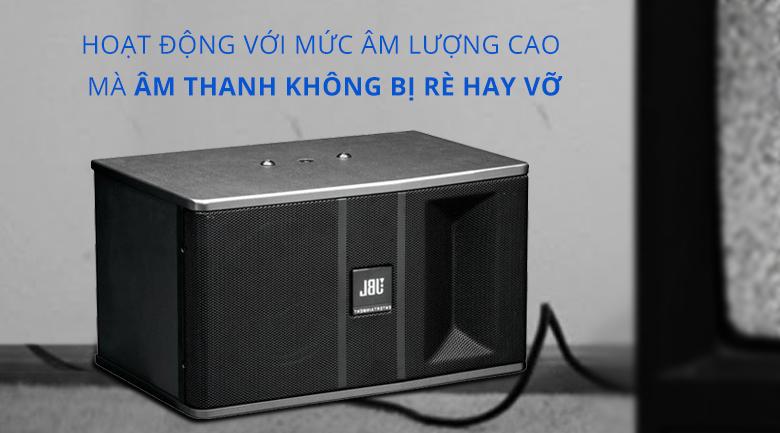 Loa karaoke JBL KI 82 | Chất ăm hoàn hảo dù hoạt động với mức lượng cao