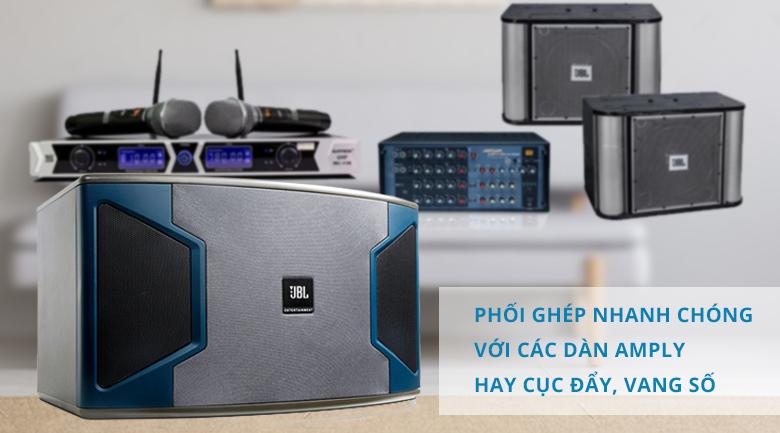 Loa karaoke JBL KI312 | Khả năng ghép nối đa dạng
