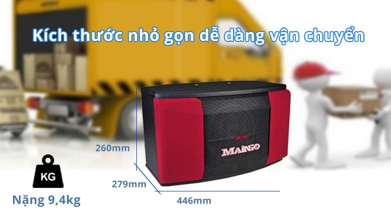 Loa Maingo LS-355 MKII | Dễ dàng vận chuyển với kích thước nhỏ gọn