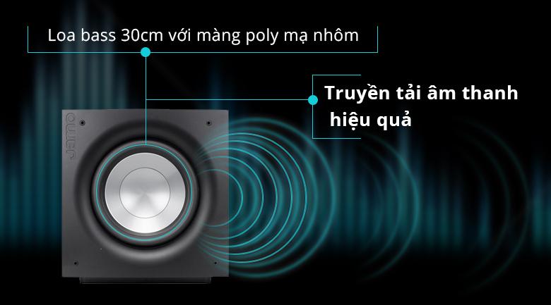 Loa sub Jamo J112 | Loa bass 30cm truyền tải âm thanh hiệu quả
