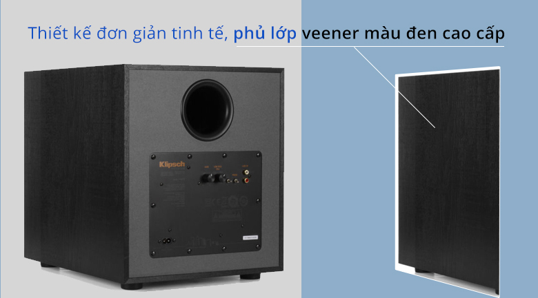 Loa sub Klipsch R100SW | Thiết kế đơn giản tinh tế