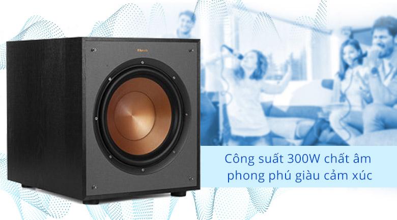 Loa sub Klipsch R100SW | Cống suất 300W chất âm giàu cảm xúc