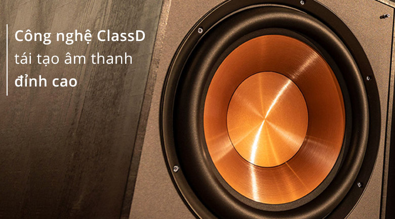 Loa sub Klipsch R100SW | Công nghệ Classa D tái tạo âm thanh đỉnh cao