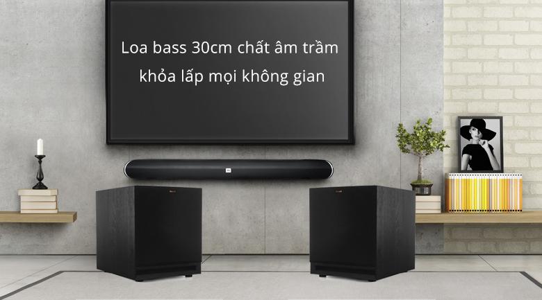 Loa sub Klipsch SPL-120 | Loa bass 30cm chất âm trầm lấp mọi không gian