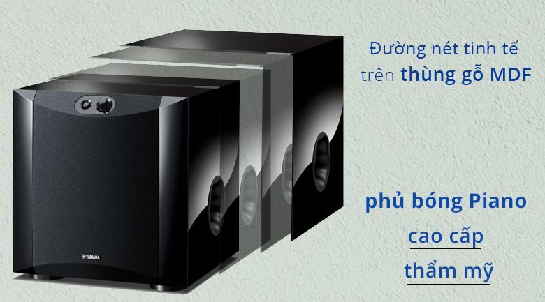 Loa sub điện Yamaha NS-SW200 piano | Đường nét tinh tế