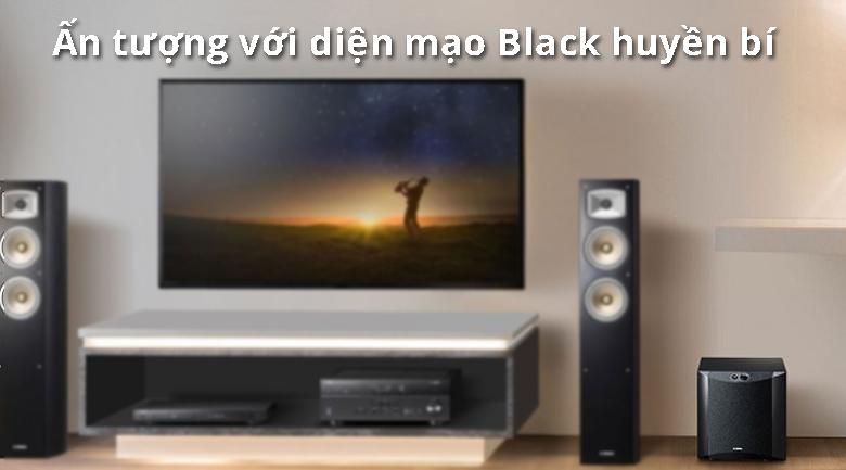 Loa Yamaha NS-SW300 Black | Ấn tượng với diện mạo Black huyền bí