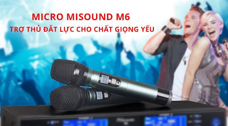 Micro Misound M6 | Trợ thủ đắt lực cho giọng yếu