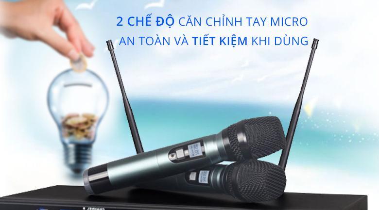 Micro Misound M6   Micro an toàn và tiết kiệm