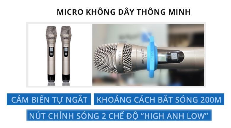 Micro Misound M5 | Micro thông tinh với những tính năng hiện đại