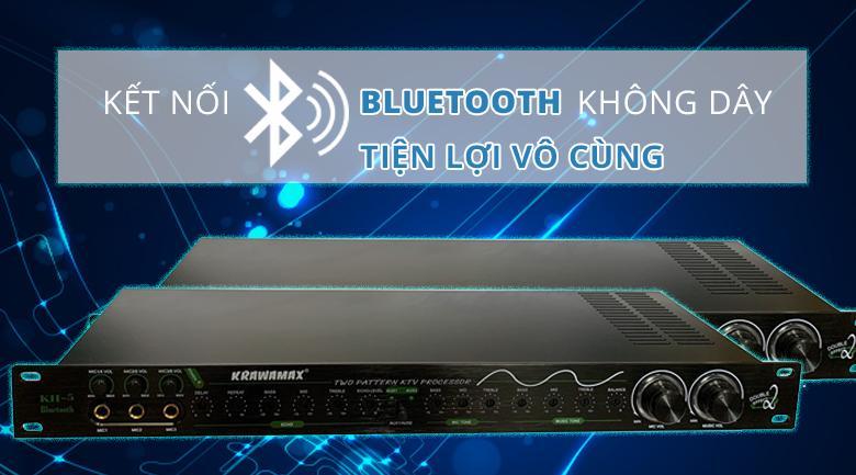 Vang cơ Krawamax KH5 | Kết nối bluetooth tiện lợi