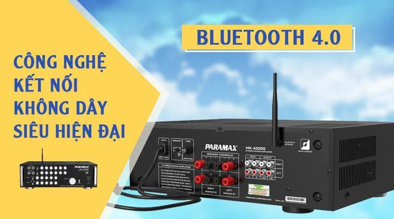 Amply Paramax MK-A1000 | Công nghệ kết nối không dây