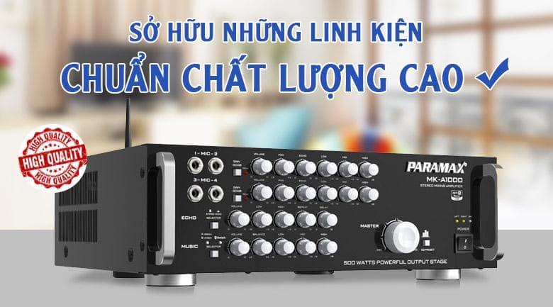 Amply Paramax MK-A1000 | Linh kiện chất lượng cao