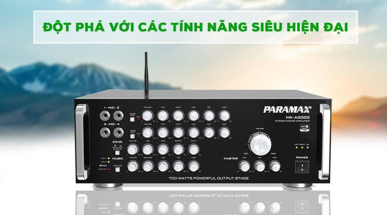 Amply Paramax MK A2000 | Các tính năng đột phá
