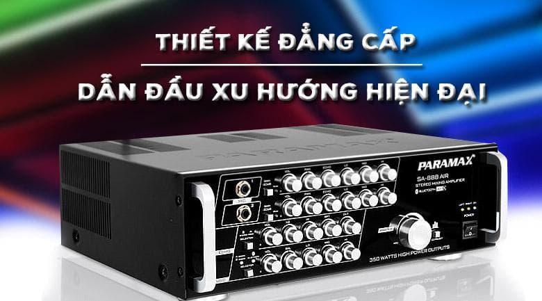 Amply karaoke Paramax SA-888 Air new với thiết kế đẳng cấp