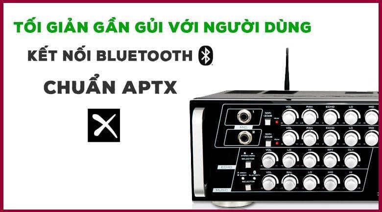 Amply karaoke Paramax SA-888 Air new với khả năng kết nối Bluetooth