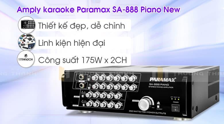 Amply Paramax SA-888 Piano New tổng quan