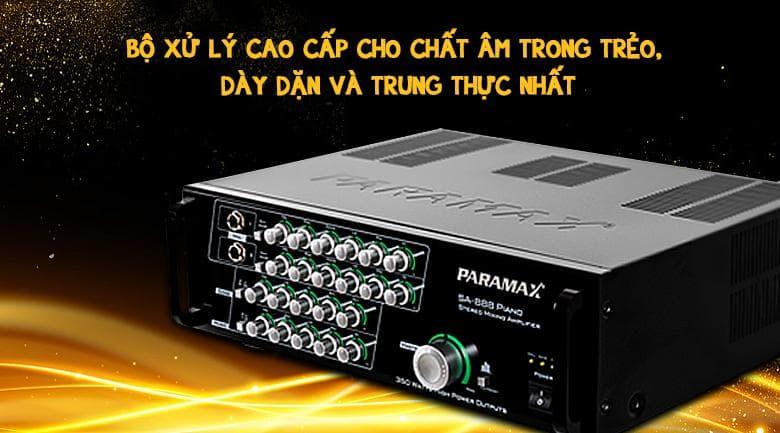 Amply Paramax SA-888 Piano New với bộ sử lý cao cấp
