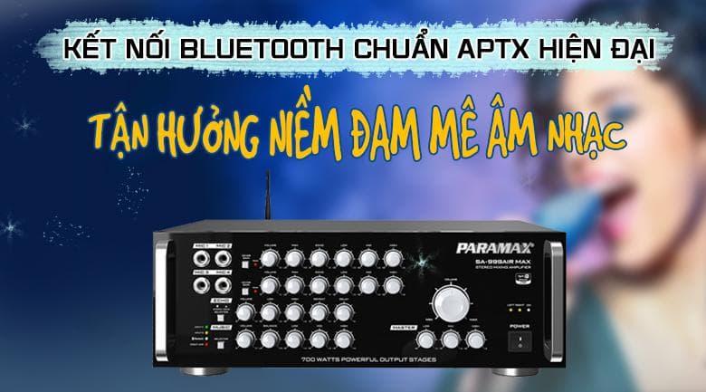 Amply Paramax SA-999 Air Max với công nghệ kết nối không dây