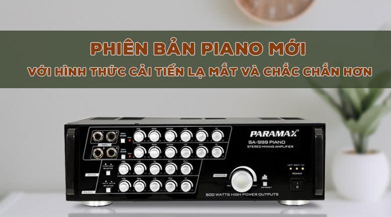 Amply karaoke Paramax SA - 999 Piano New phiên bản mới